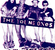 THE YOUNG ONES Comedy T-Shirt by betaville