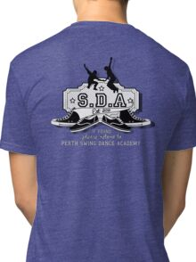 Please return to SDA (Text white) Tri-blend T-Shirt