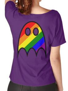 Boo The Gay Ghost Women's Relaxed Fit T-Shirt