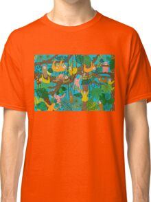 Happy Sloths Jungle  Classic T-Shirt