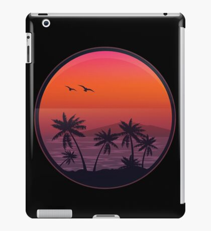 PANAMA BEACH SUNSET iPad Case/Skin