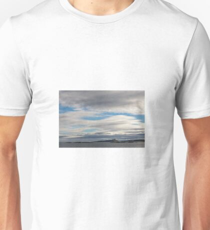 Dunstanburgh Castle, Northumberland Unisex T-Shirt