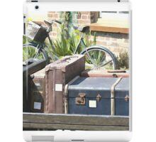 Vintage Luggage iPad Case/Skin