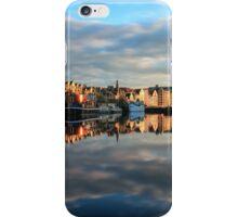 Long Exposure of The Shore, Edinburgh iPhone Case/Skin