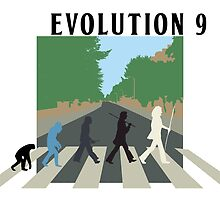 Evolution #9 (Beatles' Abbey Road/March of Progress) by Justin McArthur