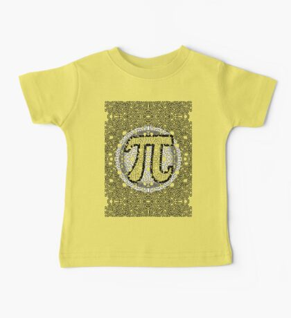 Pi - Day Pattern - Haring - FULL - 2017 Baby Tee