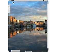 5 Second Long Exposure of the Sunset over the Shore, Edinburgh iPad Case/Skin