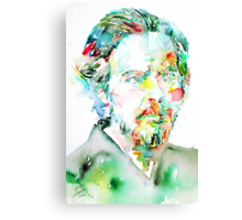 ALAN WATTS portrait Canvas Print