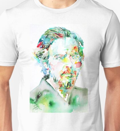 ALAN WATTS portrait Unisex T-Shirt