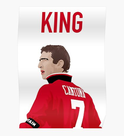 Eric Cantona - Manchester United FC Poster