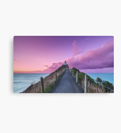 Somewhere over the Lighthouse Canvas Print
