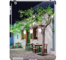Have a seat in Folegandros iPad Case/Skin