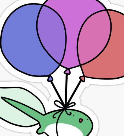 Balloon Tadpole Sticker