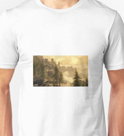 Skyrim landscape Unisex T-Shirt