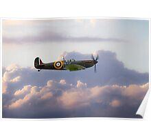 Spitfire Mk1 N3200  Poster