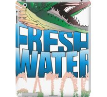 Fresh Water Gator iPad Case/Skin