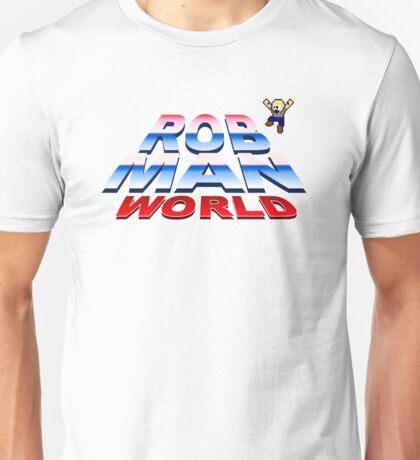 Rob Man World Logo Unisex T-Shirt