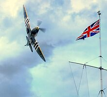 Proud  to be British  by larry flewers