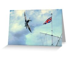 Proud  to be British  Greeting Card