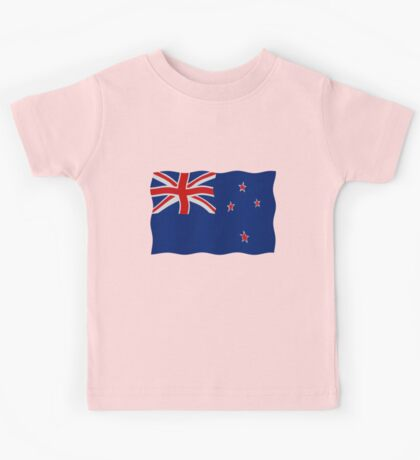 New Zealand flag Kids Tee