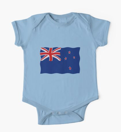 New Zealand flag One Piece - Short Sleeve