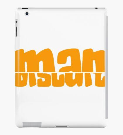 Half Man Half Biscuit orange iPad Case/Skin