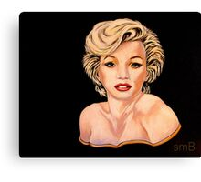 Candle In The Wind, The Painting Canvas Print