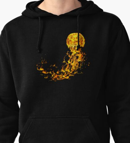 Flammable Jellyfish Pullover Hoodie