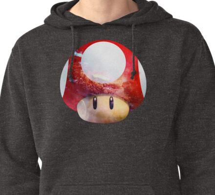 Hype Mario Shroom Pullover Hoodie