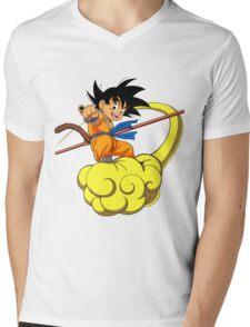 Sangoku Kinto-un Mens V-Neck T-Shirt
