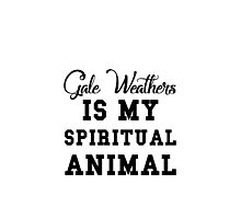 gale weathers is my spiritual animal Photographic Print