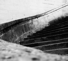 The Curved Steps  by MrAnthonyPrice