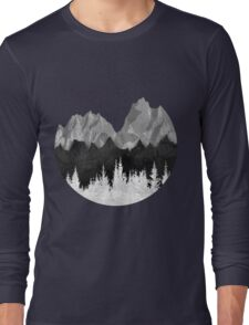 Layered Landscapes Long Sleeve T-Shirt