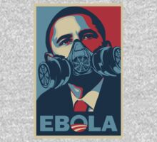 EBOLA - Obama HOPE by shirtsforshirts