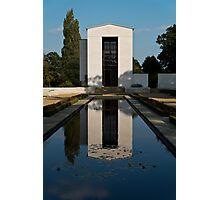 Chapel & Memorial Photographic Print