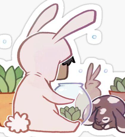 Succulent Kigu - Bunny Sticker