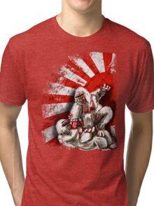 MMA fighting gorillas Tri-blend T-Shirt