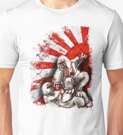MMA fighting gorillas Unisex T-Shirt