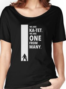 The Dark Tower Ka white Women's Relaxed Fit T-Shirt