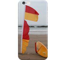 Coast Guard surfboard iPhone Case/Skin