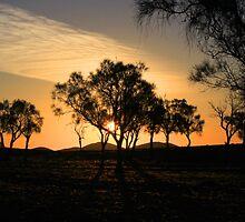 Sunset Over Maynard's Well by John Marriott