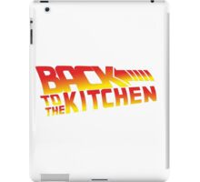 Back To The Kitchen iPad Case/Skin