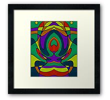 Abstract #433-2 Framed Print