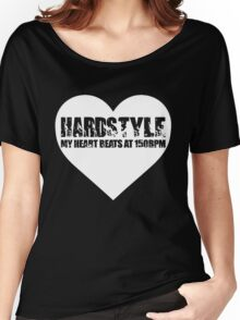 My Heart beats at 150BPM Hardstyle Women's Relaxed Fit T-Shirt
