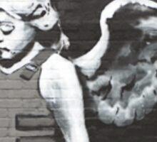 Banksy - Angel Sticker