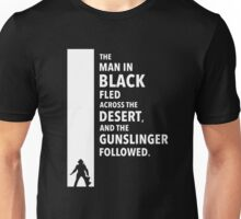 The Dark Tower Desert white Unisex T-Shirt