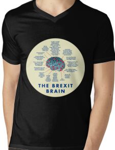 THE BREXIT BRAIN - A GUIDE Mens V-Neck T-Shirt