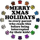 Merry Parental Holidays! by ezcreative