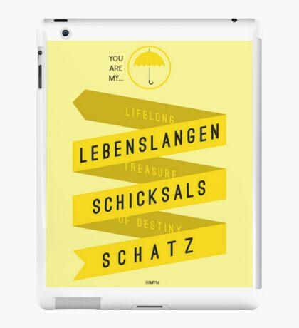 Lebenslangerschicksalsschatz himym iPad Case/Skin