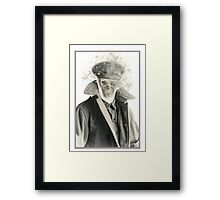 Shock Soldier. Framed Print